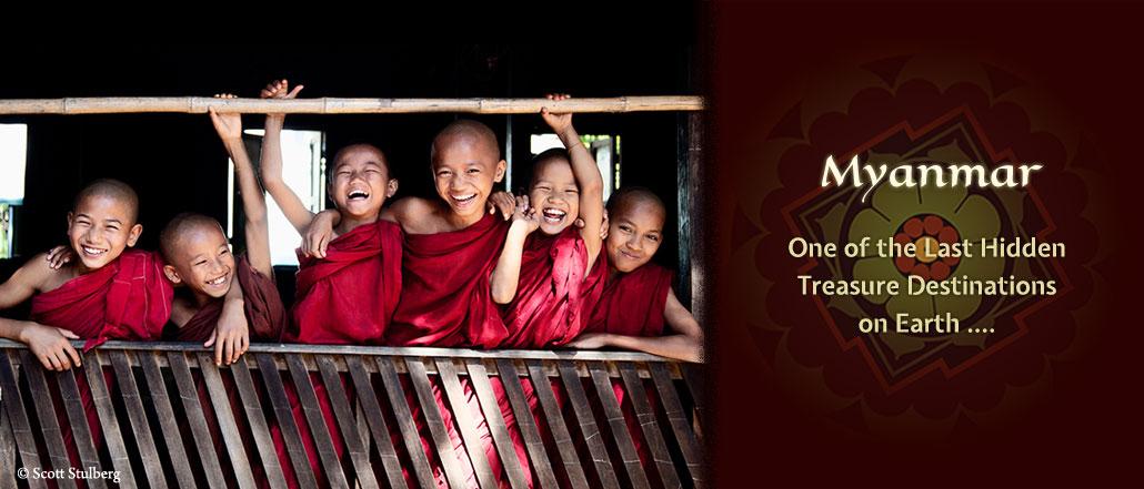 Luminous Journeys Myanmar Monks