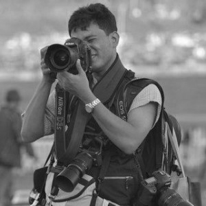 The great photographer Kyaw Kyaw Winn in Myanmar